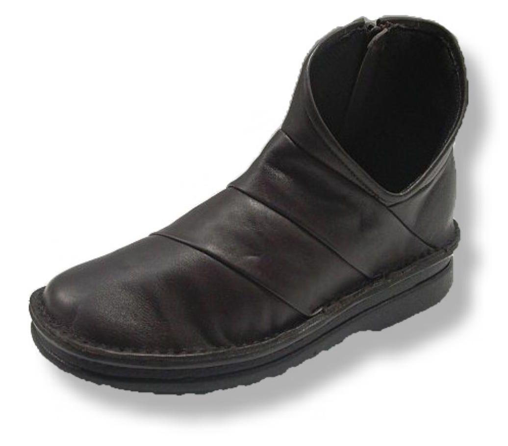 アウトステッチ低反発ブーツ