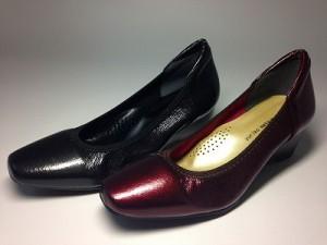 婦人靴 レディースシューズ パンプス・ウェッジソール yuriko matsumoto