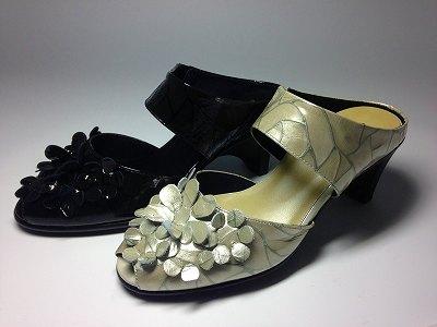 婦人靴 レディースシューズ パンプス パンチングシューズ yuriko matsumoto